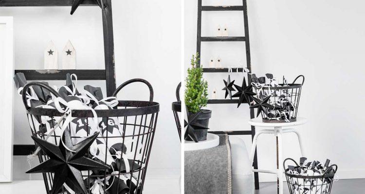 adventskalender idee zum selber basteln sch n bei dir by depot. Black Bedroom Furniture Sets. Home Design Ideas