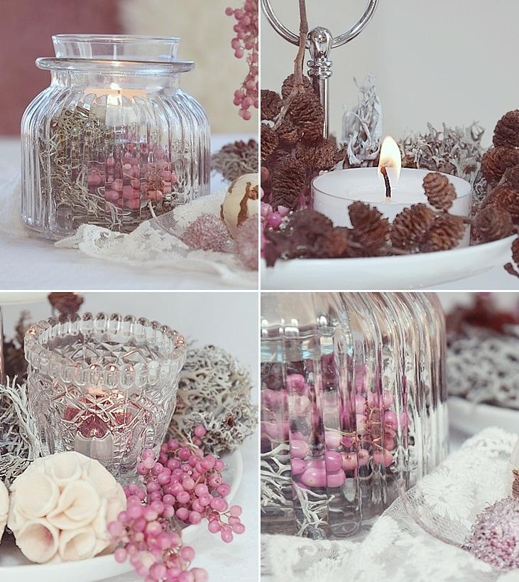 Etagere winterlich dekorieren sch n bei dir by depot for Deko tablett dekorieren