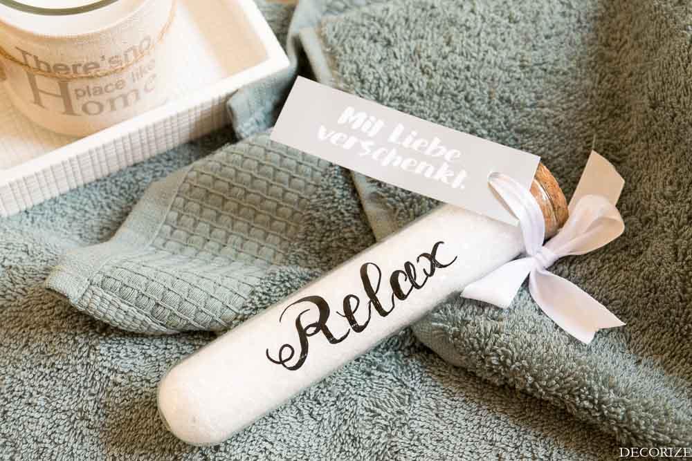 Wellness bilder zum ausdrucken  Wellness im Bad mit DIY-Badesalz | Schön bei dir by DEPOT