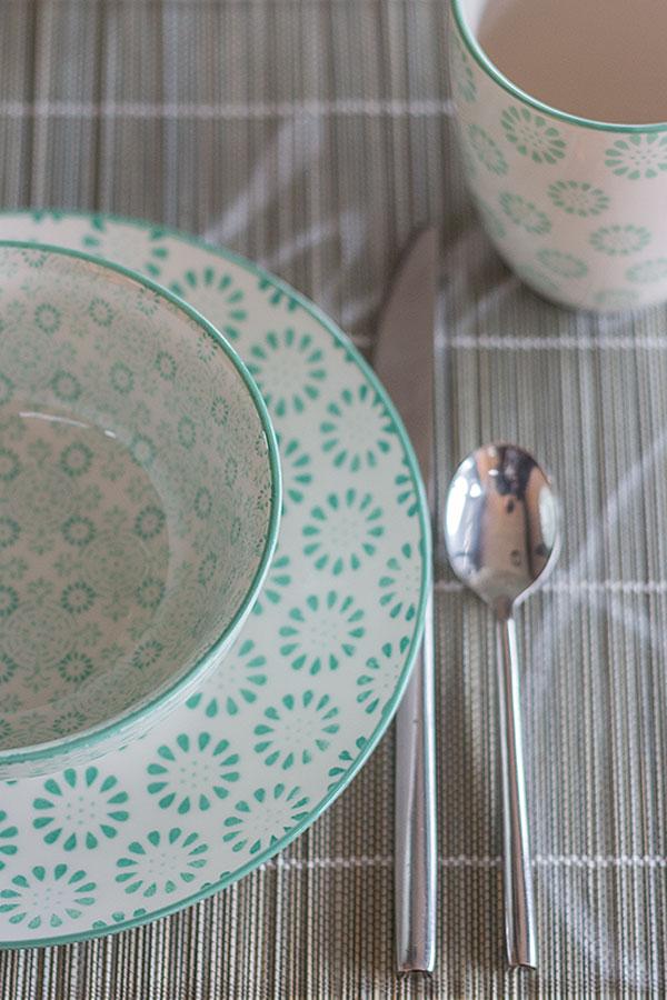 Geschirr in mintgrün von DEPOT