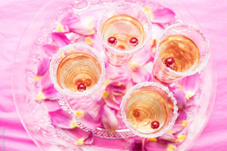 Tischdeko-Tipps - Aperetif - Drink