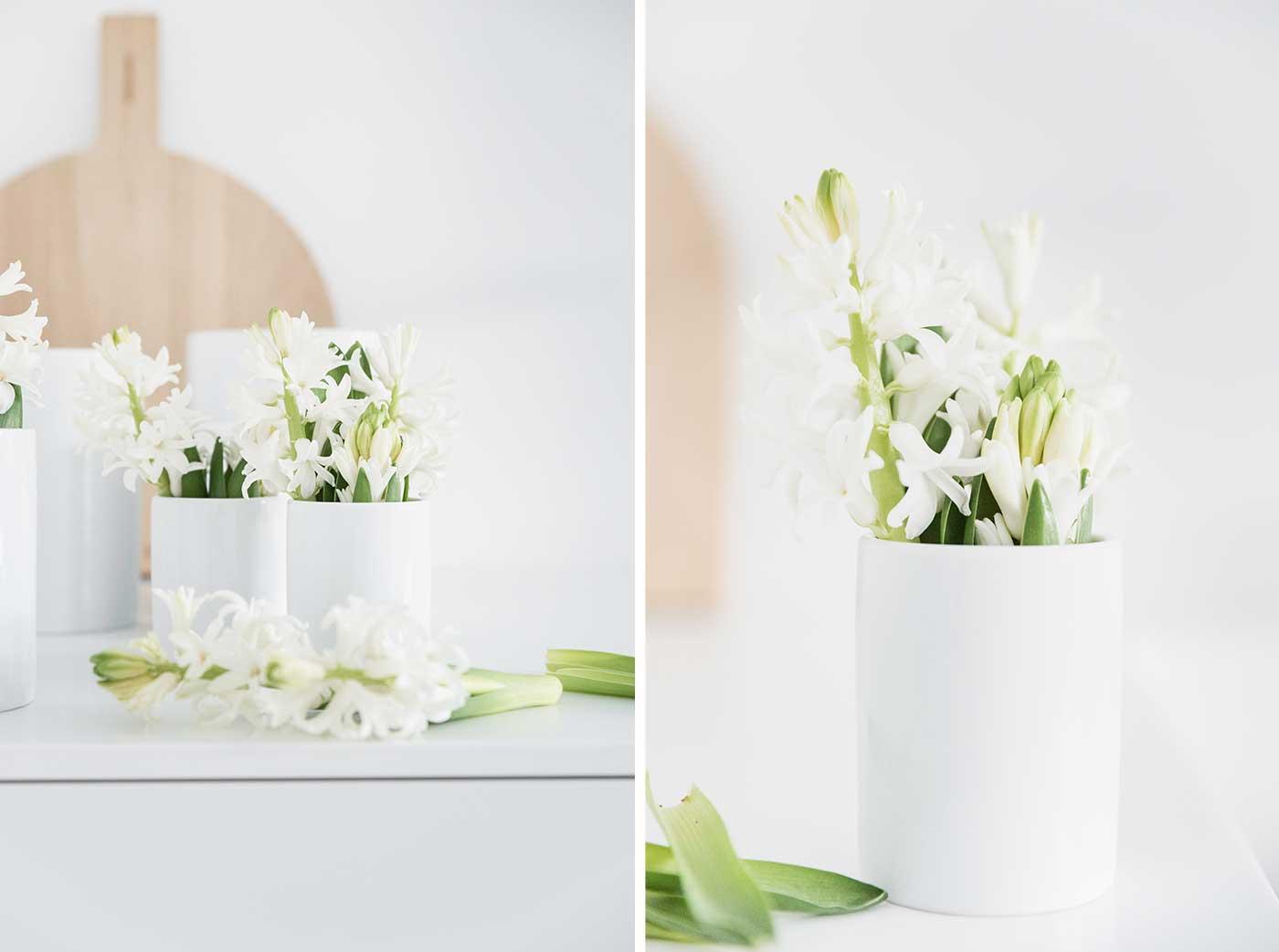 tipps welche blumen passen in welche vase welche vasenform passt zu welchen blumen. Black Bedroom Furniture Sets. Home Design Ideas
