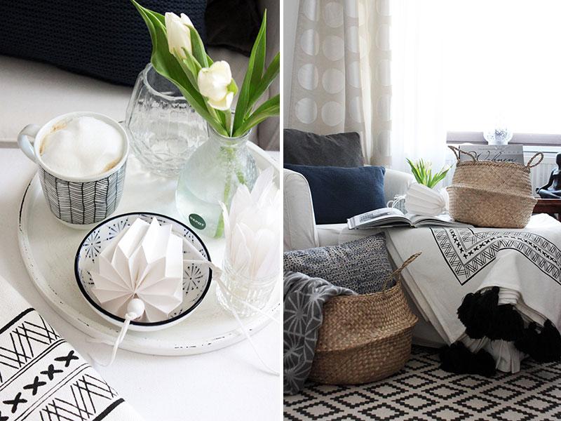 frische-Schlafzimmerdekoration