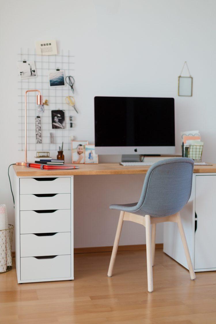 Diy wand organizer f r mehr ordnung am schreibtisch for Schreibtisch dekorieren diy