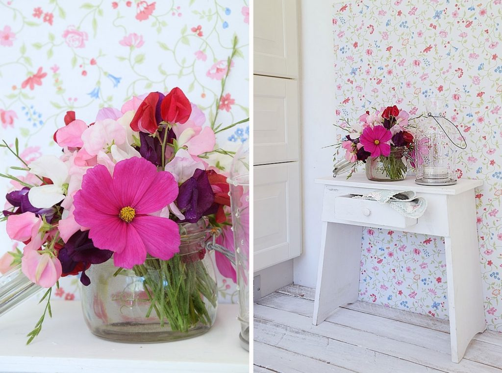 Wohnstory - Dekoration mit Blumen