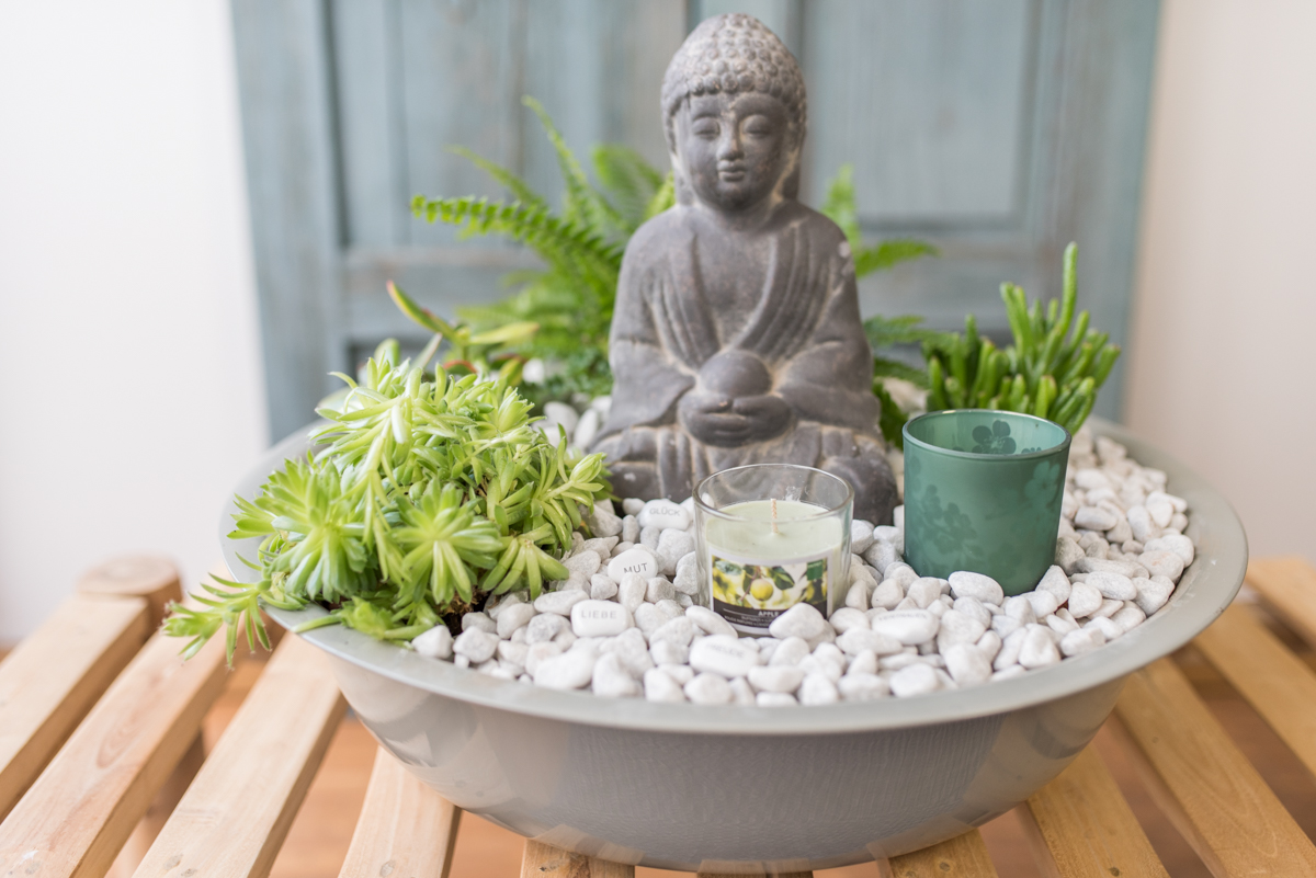 DIY indoor Garten im Asia Look