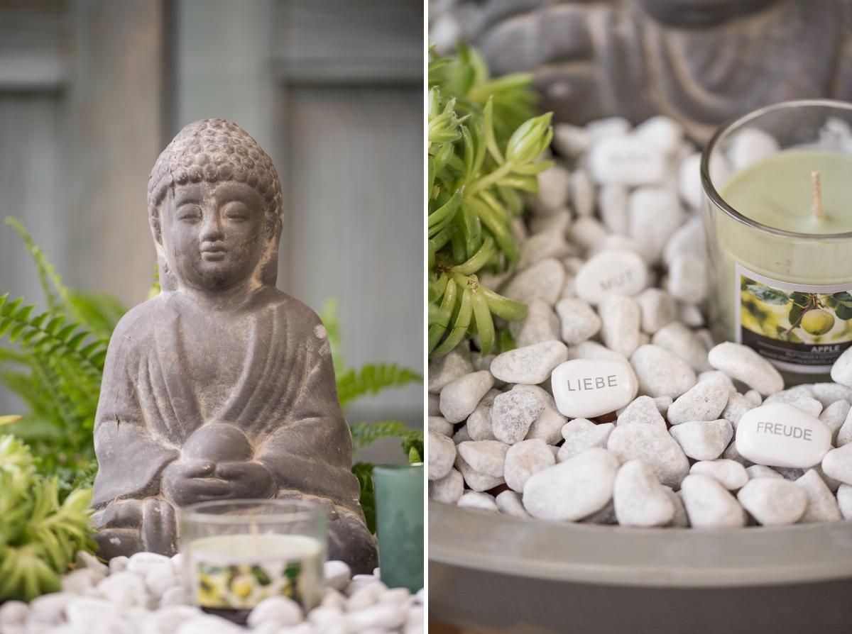 DIY indoor Garten im Asia Look