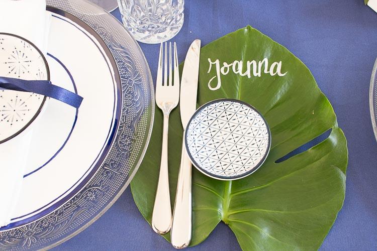 5 Tipps für die perfekte Tischdeko - Platzkarte