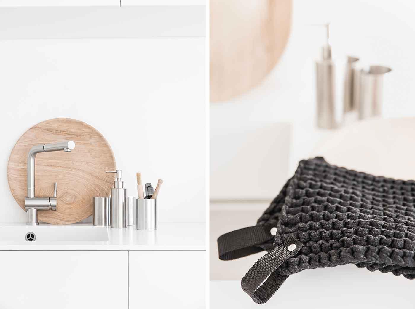 Seifenspender für Spülmittel - dekorative Küchenutensilien