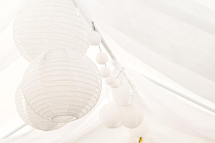 Hochzeits-Lichterzelt