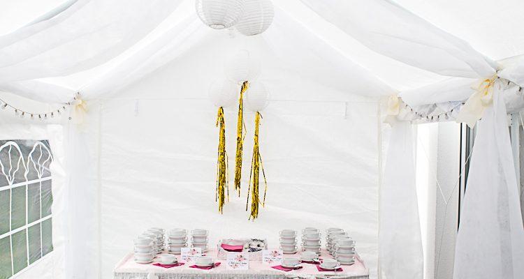 Dekorieren Mit Lichterketten Ein Hochzeits Lichterzelt