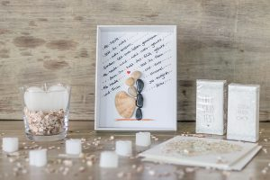Hochzeitsgeschenk DIY Bilderrahmen