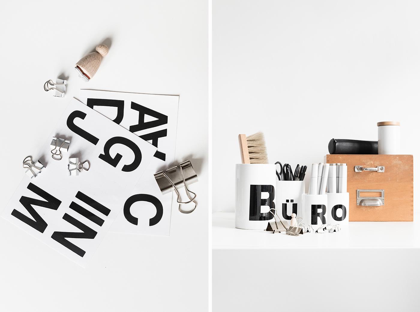 """Porzellan mit """"Designletters"""" selber machen"""