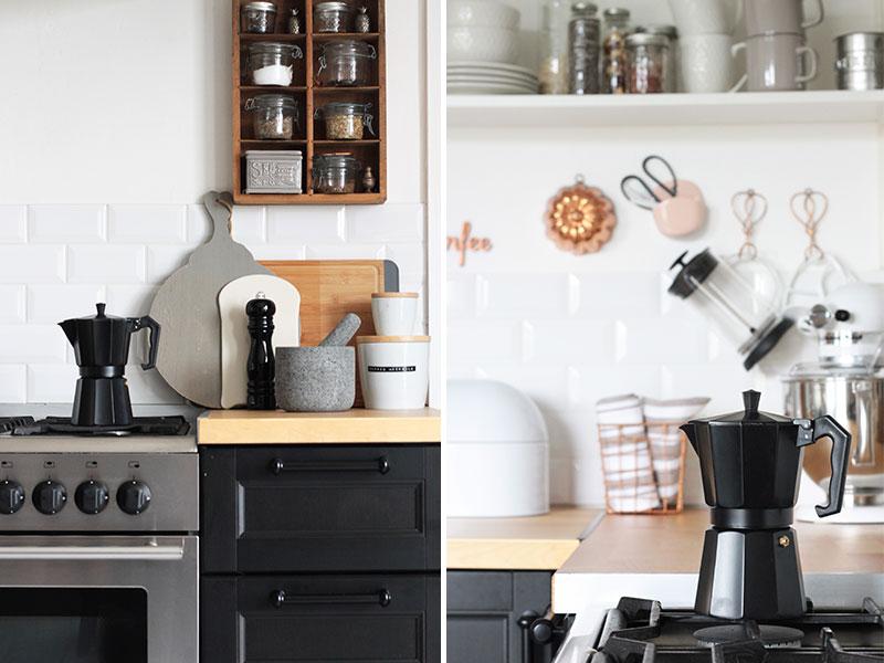 Espressobereiter-in-der-modernen-Küche