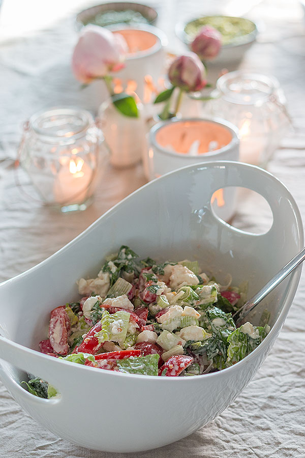 Leckerer Salat zum Grillen