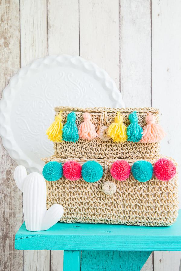 Summer Style – mit Quasten und Pom Poms dekorieren