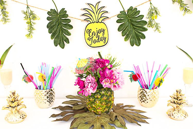 DEPOT Dekorieren mit Ananas