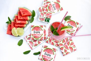 Melonen Coaster DIY-