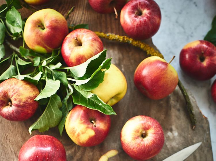 Kein Spätsommer ohne frische Äpfel vom Wochenmarkt!