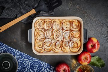 Apfelrosen aus Blätterteig - eine Hommage an den Apfel
