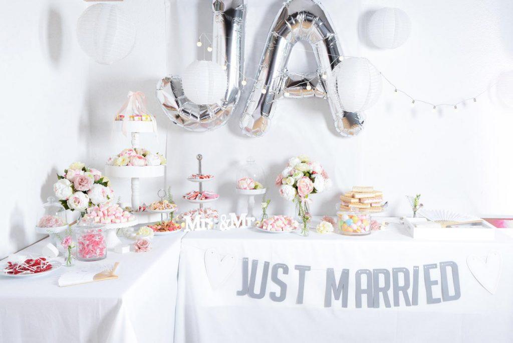Candy-Bar zur Hochzeit