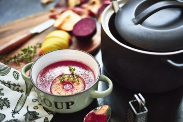 Apfel mal anders: Rote-Bete-Suppe mit fruchtiger Note.