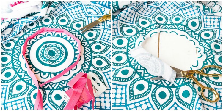 DEPOT Strandtuch Beach Poncho Step-by-Step-Tutorial DIY by Decorize