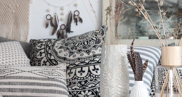 wohnzimmer im boho look mit diy traumf nger sch n bei dir by depot. Black Bedroom Furniture Sets. Home Design Ideas