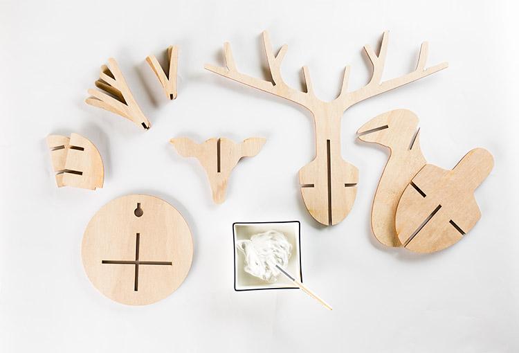 Dekoelch Bauteile Holz
