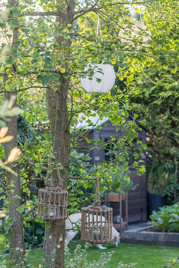 Lampions und Laternen für eine gemütliche Gartenstimmung