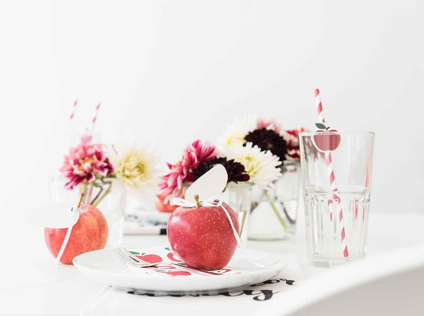 Wir feiern ein Apfelfest - Ideen rund um den Apfel.
