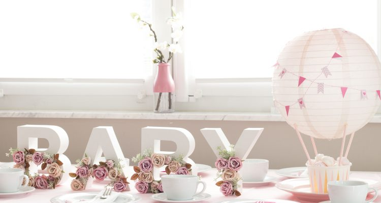 diy babyshower deko ideen zum selbermachen. Black Bedroom Furniture Sets. Home Design Ideas