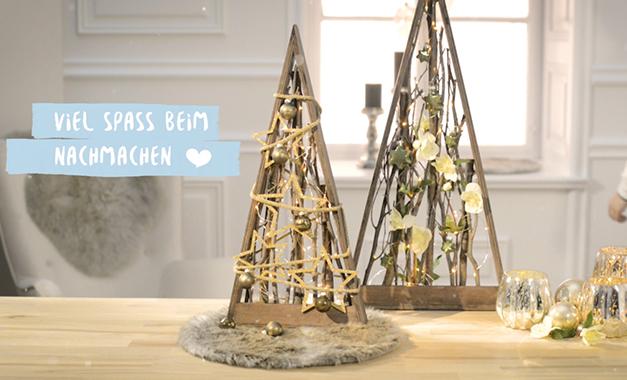 so geht 39 s weihnachtsdeko mit lichterkette. Black Bedroom Furniture Sets. Home Design Ideas