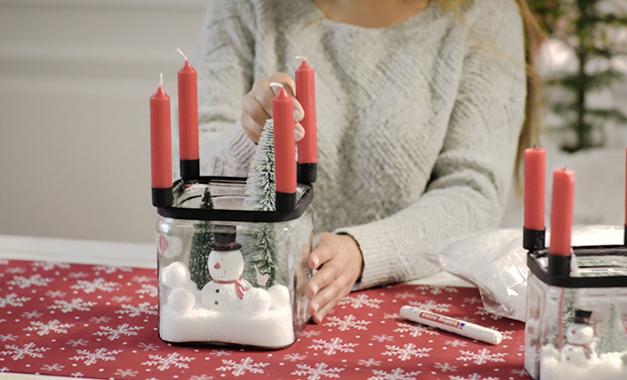 Unverzichtbar für den Adventskranz: die vier Kerzen!