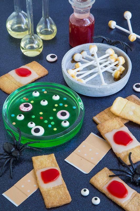 Schaurig Schöne Leckereien Für Die Halloween Party Schön Bei Dir