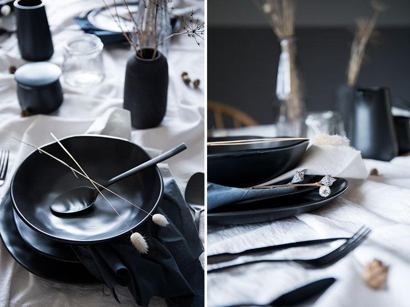 gedeckter-Tisch-mit-schwarzem-Geschirr-im-Herbstlook