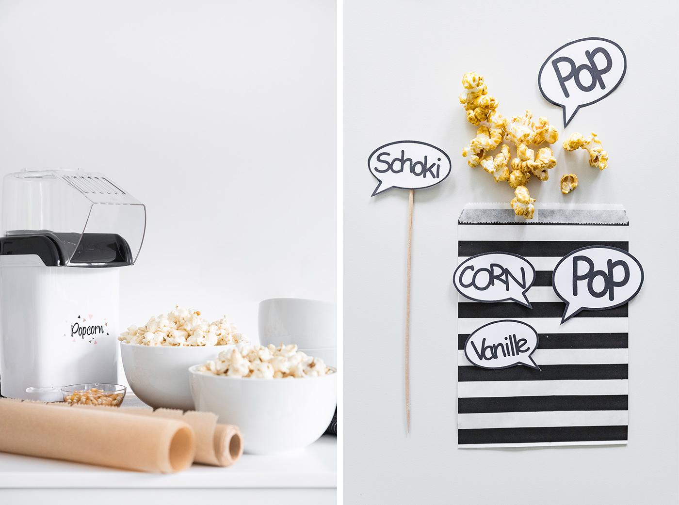 Popcorn aus der Popcornmachine - Popcornrezepte