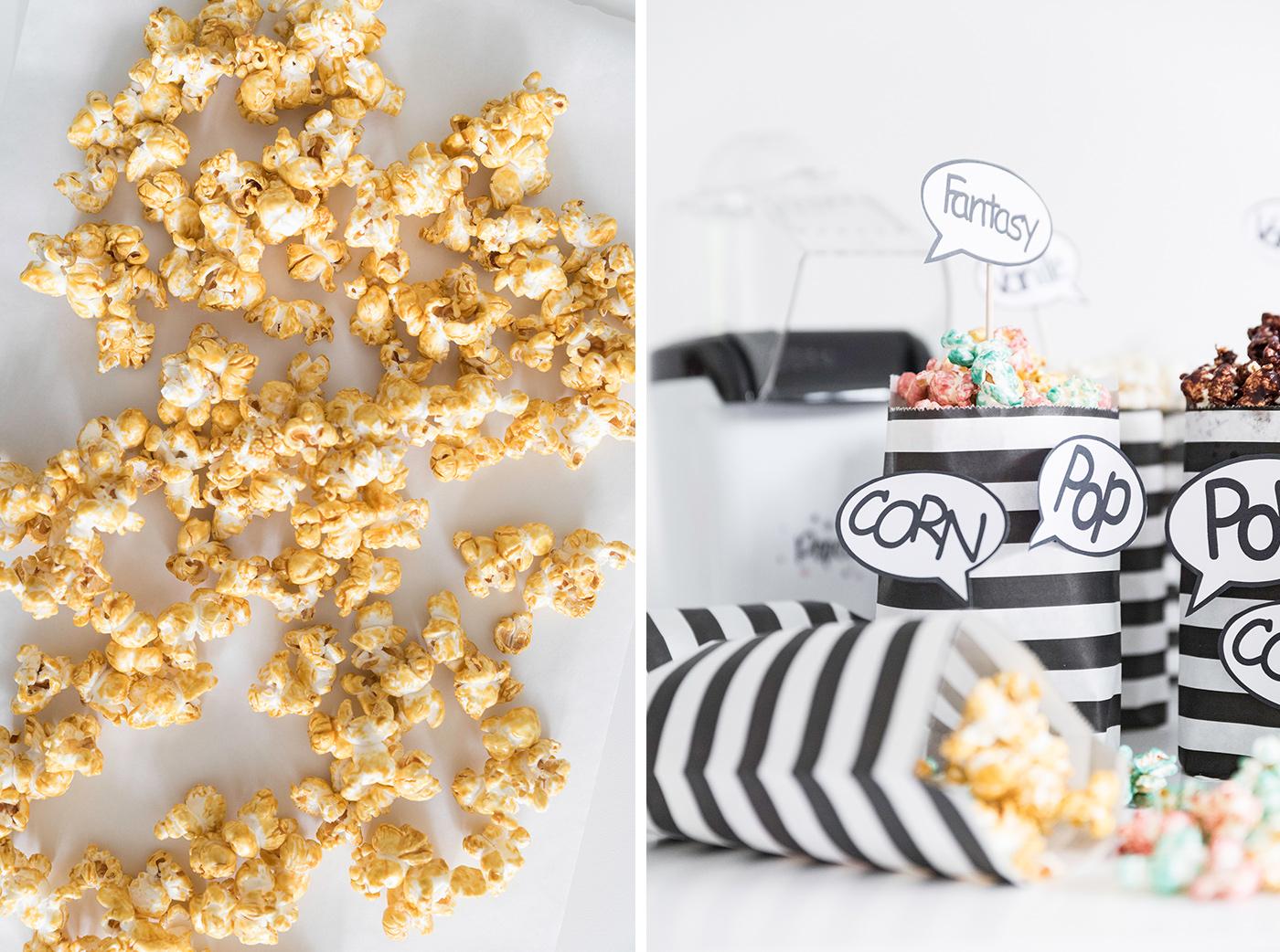 Popcorn wie im Kino - Popcorn Vanille-Caramel