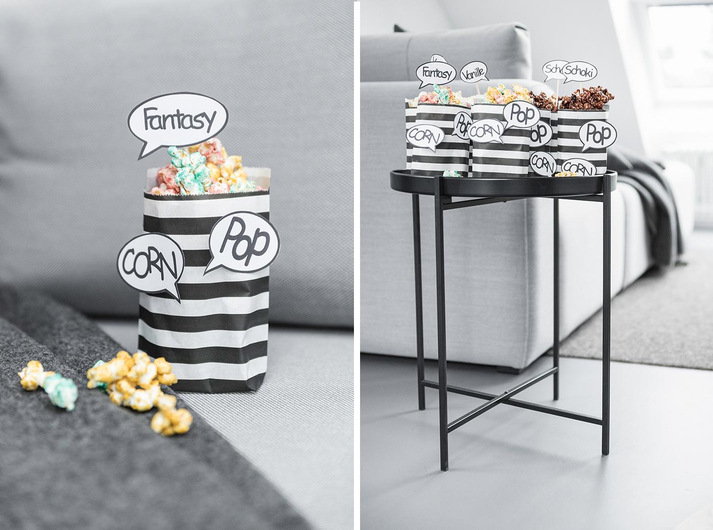 Popcornrezepte - Popcorn wie im Kino