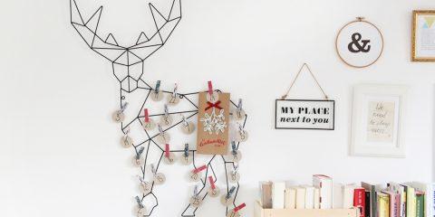 minimalistischer Adventskalender
