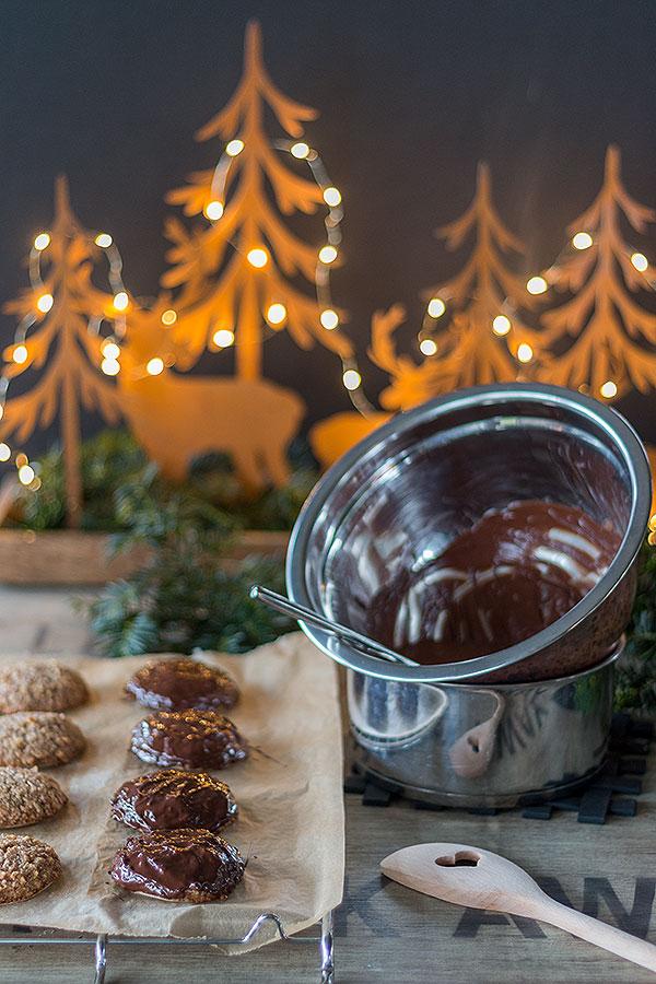 Nürnberger Elisenlebkuchen mit Schokoladenüberzug