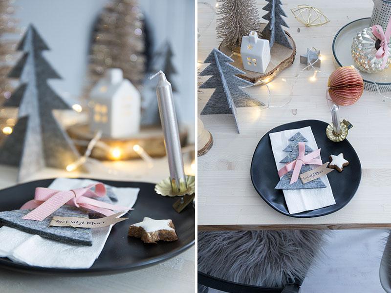 Platzkarte-mit-Filztannenbaum-und-Baumkerzen-zur-Weihnachtstischdeko