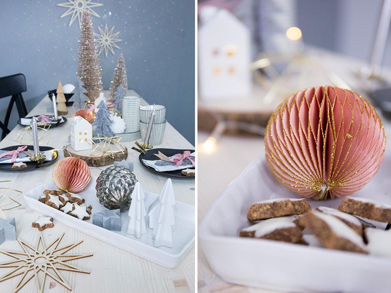 Tischdekoration-zu-Nikolaus-in-Rosa-und-Grau