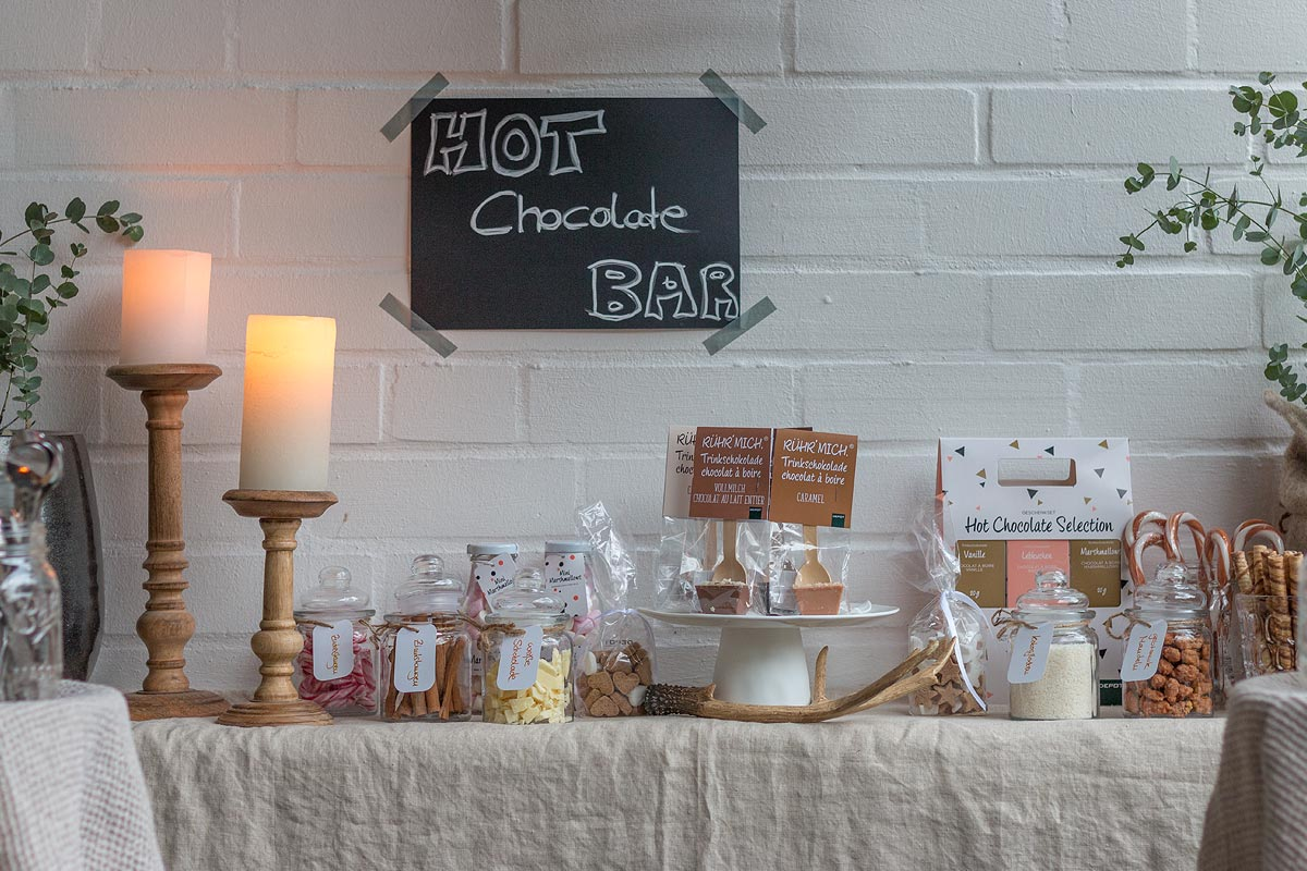 Toppings Hot Chocolate Bar