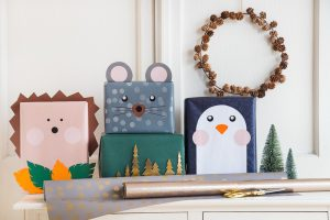 Weihnachtsgeschenke kreativ verpacken