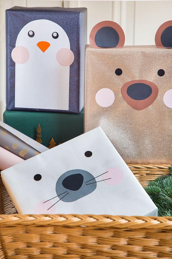 weihnachtsgeschenke kreativ verpacken einfaches diy. Black Bedroom Furniture Sets. Home Design Ideas