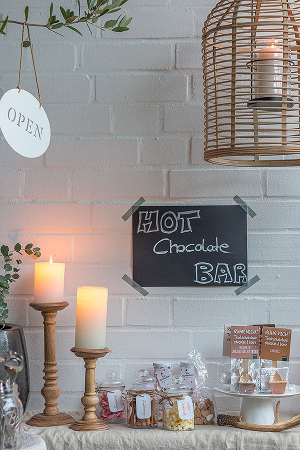 Winter Hot Chocolate Bar