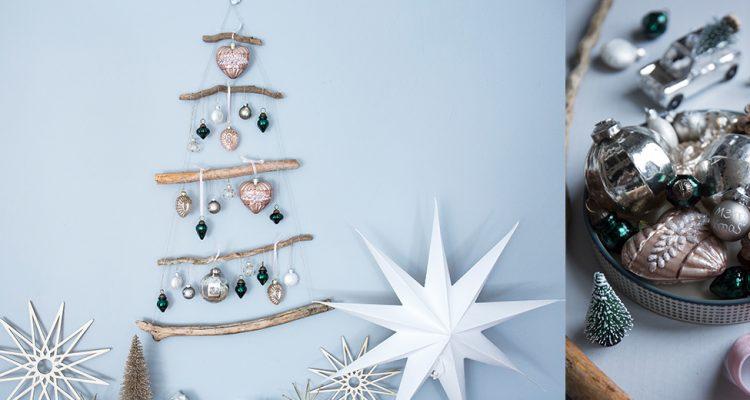 Diy Weihnachtsbaum.Weihnachtsbaum Aus ästen Do It Yourself