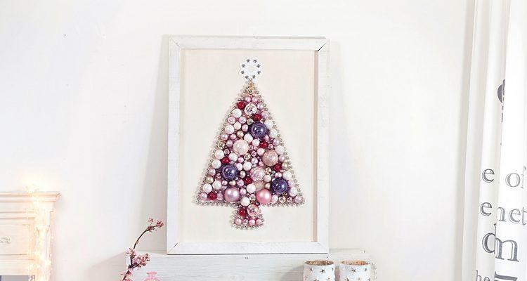 Diy Weihnachtsbaum Aus Weihnachtskugeln