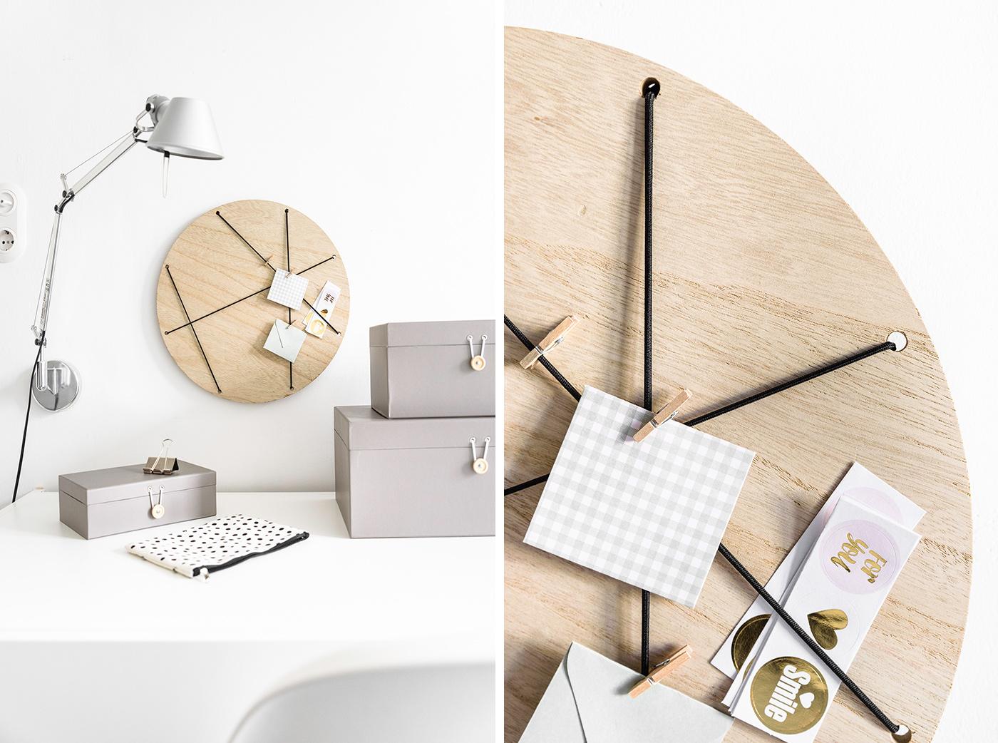 Pimp my desk - Homeoffice mit DIY Pinnwand